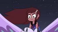 S4E28 Teen Mariposa appears on Meteora's back