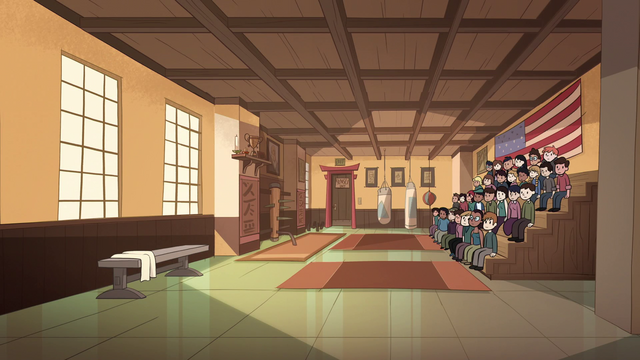 File:S1E5 Karate tournament dojo.png