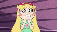 S2E27 Star Butterfly awestruck 'cake on a plate'