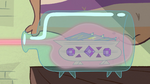 S2E8 Mewni battleship in a bottle