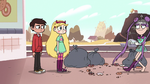 S2E9 Mina backs away from Star and Marco