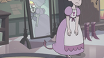 S3E33 Teen Meteora hides her tail under her dress