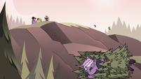 S3E38 Meteora Butterfly rolling down a hill