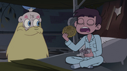 S4E1 Star watches Marco eat a pie