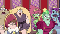 S3E10 Mewni royals gasping with shock