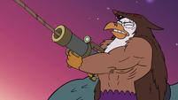 S3E22 Talon Raventalon firing the harpoon gun