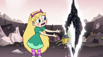S3E7 Star Butterfly tosses Ludo into the void