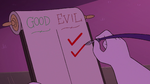 S3E29 Hekapoo checks off 'EVIL' again
