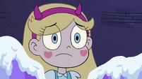 S4E4 Star looks sympathetic at Eclipsa