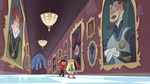 S3E14 Star leads Marco through the castle hallway