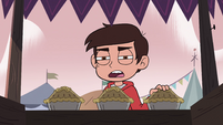 S4E1 Marco 'you better throw in a napkin'