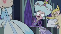 S2E40 Queen Moon looks concerned at Star