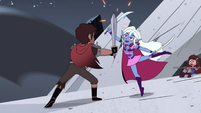 S4E28 Wyscan deflecting Adult Marco's attack
