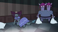 S3E33 Lizard princess laughing on the floor