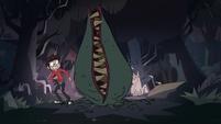 S1E9 Flytrap monster eats Marco's gum