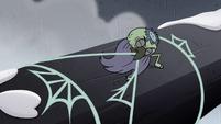 S2E2 Ludo pulling on spider's web