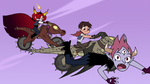 S4E22 Tom goes flying near Marco and Hekapoo