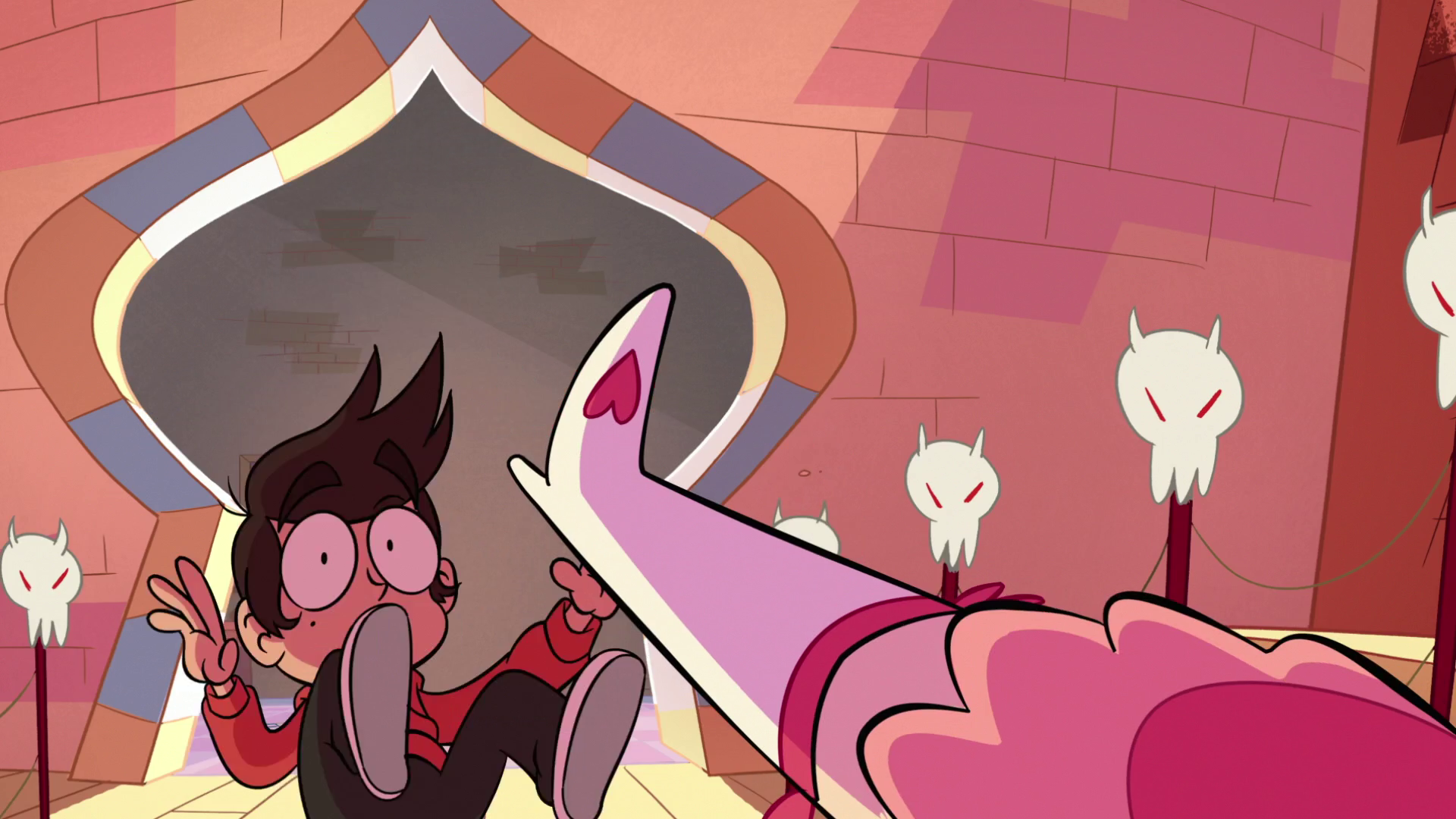 Image - S1E15 Star kicks Marco away.png | Star vs. the Forces of ...