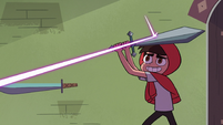 S3E37 Marco deflecting Spider's shots