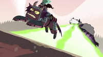 S3E37 Meteora shoots her lasers at Jorby