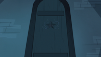 Sleep Spells background - Star's bedroom door night 2