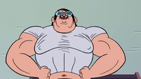S2E4 Store clerk revealed to be muscular