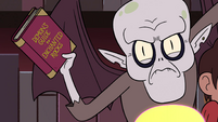 S4E13 Relicor holds Guide to Enchanted Rocks