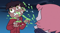 S4E19 Babs coughs violently on Marco