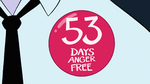 S1E15 Anger-free for 53 days