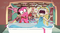 S2E11 Star Butterfly pops out of the water