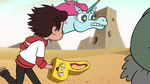 S2E13 Pony Head tells Marco to look out