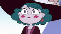 S4E23 Eclipsa listening to Star Butterfly