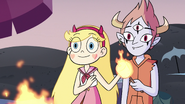 S3E19 Star and Tom give Marco their last marshmallow