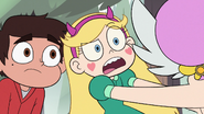 S2E10 Star Butterfly 'what's he doing way up there?'