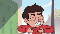 S2E26 Marco Diaz covers up his sweaty armpits