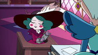 S3E29 Eclipsa 'if that means crystallization'
