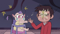 S4E10 Meteora smacks spoon in Marco's face