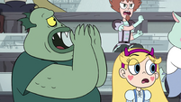S4E16 Buff Frog calling to his children