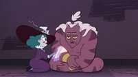S4E32 Eclipsa Butterfly nursing Globgor's wound