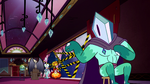 S2E25 Rhombulus tells the others to check the inputs