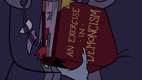 S3E12 'An Exercise in Demoncism' book