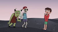 S3E19 Marco runs into skeleton and demon girl