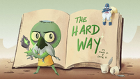 The Hard Way title card