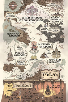 Map of Mewni