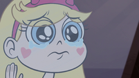 S1E4 Star Butterfly sad face