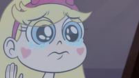 S1E4 Star Butterfly sad face