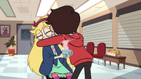 S2E7 Marco Diaz hugging Star Butterfly