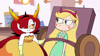 S3E11 Hekapoo strapping Star to the table