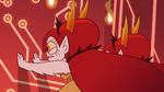 S3E29 Hekapoo and duplicates push against the wall