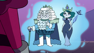 S3E29 Hologram of King Shastacan and Eclipsa